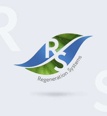 Разработка логотипа, упаковки и сайта для компании Regeneration Systems