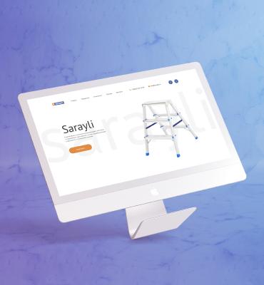 Разработка сайта для «Sarayli»